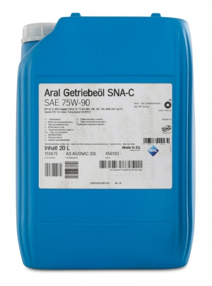Aral Getriebeoel SNA-C SAE 75W-90